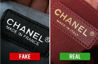 Nhận biết hàng fake qua tên thương hiệu